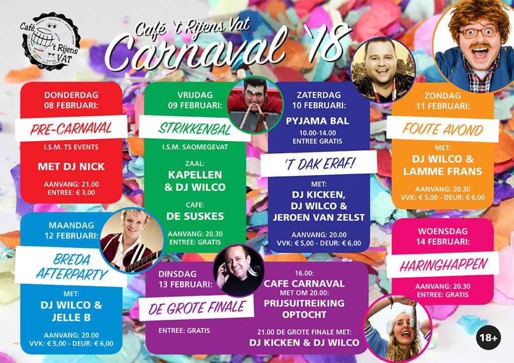 VAT Carnaval 2018